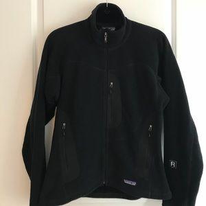 PATAGONIA Fleece 'Polartec' Jacket in Black
